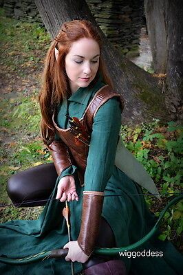 Tauriel Elf Bow, Quiver, and Arrow Set