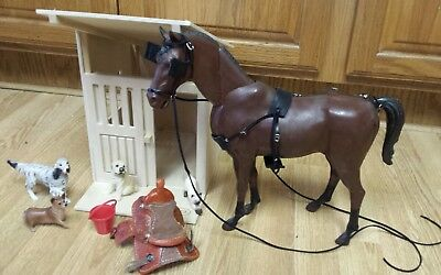Marx Johnny West Breyer horse custom harness