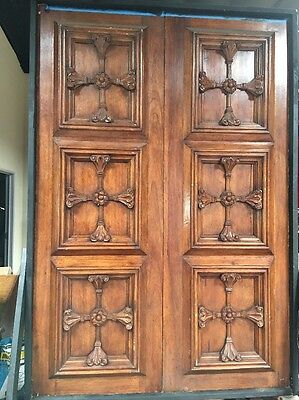 Doors Carved Mahogany