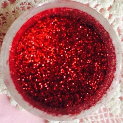 Christmas Red Disco Dust Cake Glitter Fondant Food Coloring Decorating 5g
