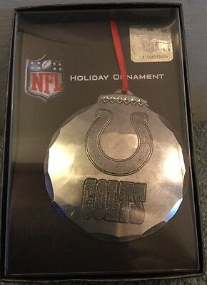 Wendell August Forge Indianapolis Colts Christmas Ornament