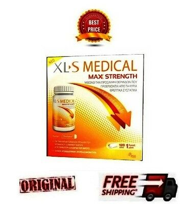 *new* Xls Medical Max Strength - Weight Loss Slimming - 120 Caps - One Month