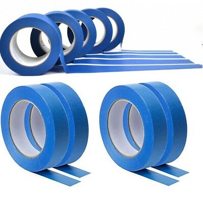 NEW UV-Resistant-Blue-Painters-Clean-Peel-Masking-Tape-24mm-x-50M **