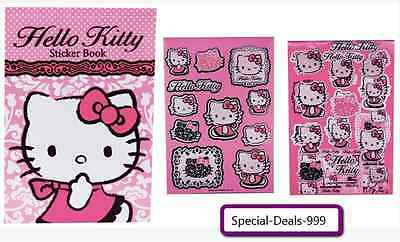 Hello Kitty Sticker Sammlung (52 Sticker) + 1x Notizblock / Neu / Geschenk / TOP