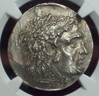 NGC Ancient GREECE THRACE ODESSUS 125-70 BC Tetradrachm CH AU ✯ Perfect 5/5 ZEUS
