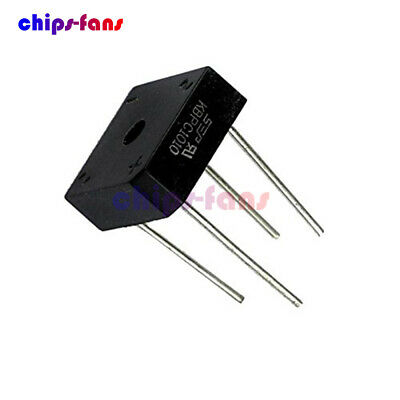 5PCS KBPC1010 KBPC-1010 Bridge Rectifier 10A 1000V