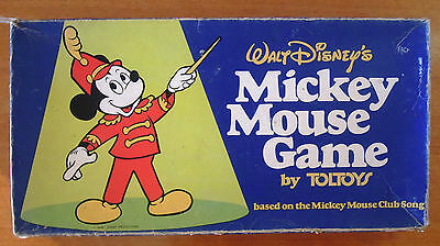 Walt Disney's Mickey Mouse Board Game by Toltoys