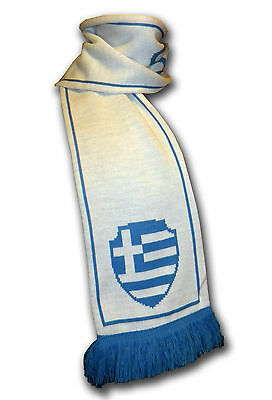Official Greece Hellas soccer football knitted supporter fan scarf ultras