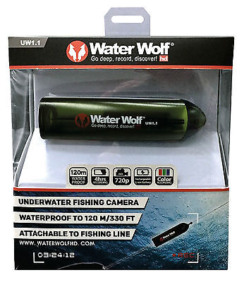 Water Wolf 1.1 Camera AND Accessory Kit - Under Waterproof Fishing Gadget Gift
