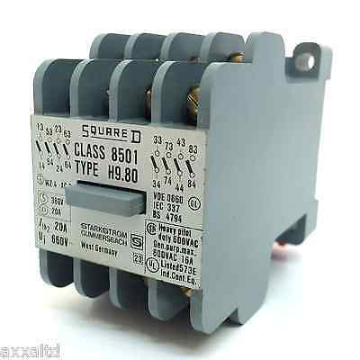 Control Relay 8501H980 Square D 8501-H9.80