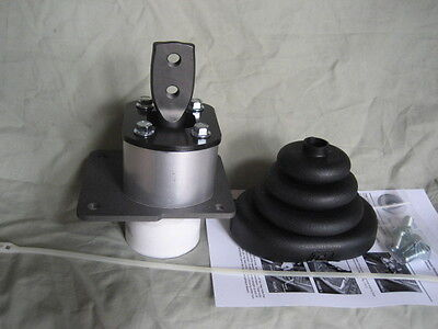 """Core Shifter Base for 8"""" Hurst stick: T5 swap from 1982-1995 S10 GM truck"""