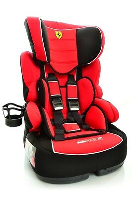 Ferrari Car Seat SP Rosso Limited - Up to 80lbs / 9-36 kg model 2017 Brand NEW