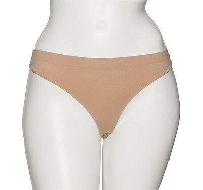 Ladies Nude Seamless Ballet Dance Underwear Briefs Pants Knickers Thong By Katz