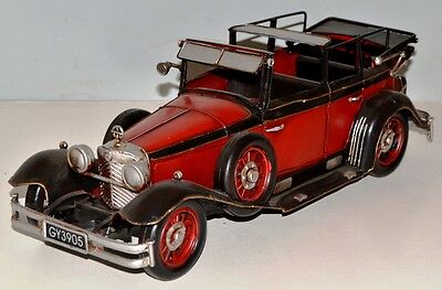 MB 770 K 1930 Oldtimer Blechauto Blechmodell Tin Model Vintage Car 35 cm 37957