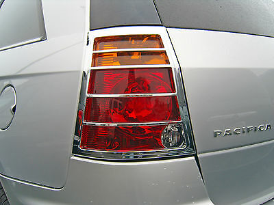 Chrysler Pacifica 2004 - 2008 Tfp Abs Chrome Tail Light Cover