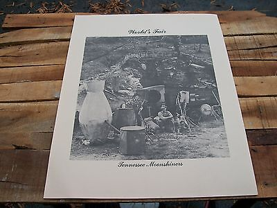 Antique Moonshine World's Fair poster of Tennessee Moonshiners