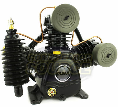 Puma 3 Cylinder 2 Two Stage Cast Iron Air Compressor Pump 15 SCFM New