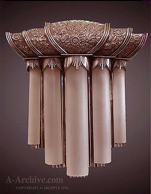 Art Deco Theater Sconce