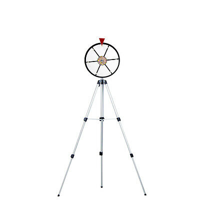 12 Inch White Dry Erase Spinning Prize Wheel w/ Stand for Business Party Events