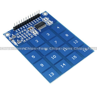 Arduino TTP229 16 Channel Digital Capacitive Switch Touch Sensor Module CF