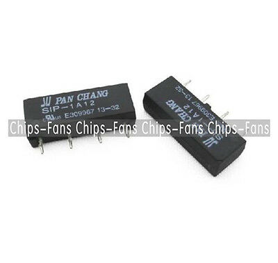 12V Relay SIP-1A12 Reed Switch Relay 4PIN for PAN CHANG Relay TOP CF