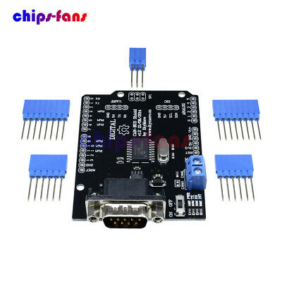 SPI MCP2515 EF02037 CAN BUS Shield Controller communication speed high Arduino C