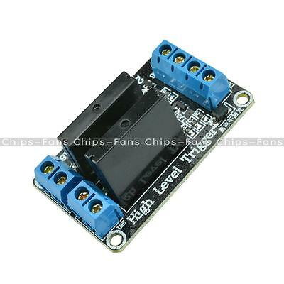 5V 2 Channel OMRON SSR G3MB-202P Solid State Relay Module with Resistive Fuse CF