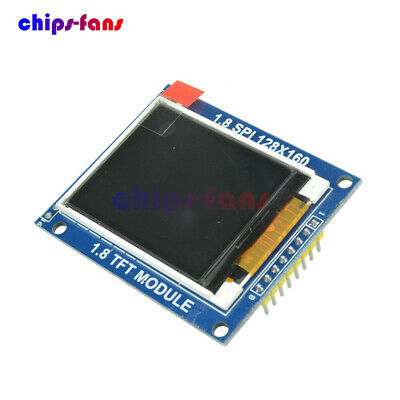 1.8 Inch Mini Serial SPI TFT LCD Module Display with PCB Adapter ST7735B IC NEW