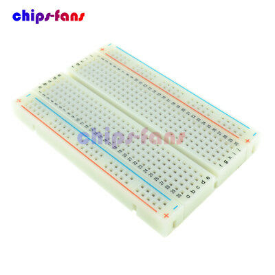 5Pcs Mini Universal Solderless Breadboard 400 Contacts Tie-points Available