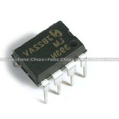 50Pcs LM393P LM393N LM393 DIP-8 Low Power Voltage Comparator IC