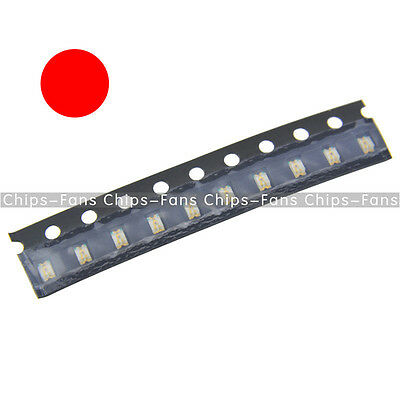 100Pcs Super Bright RED Color 0805 SMD SMT LED