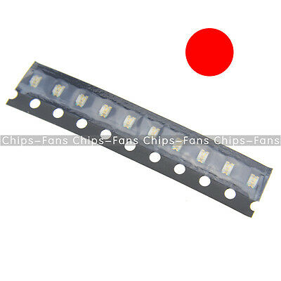 200PCS Super Bright RED Color 0805 SMD SMT LED CF