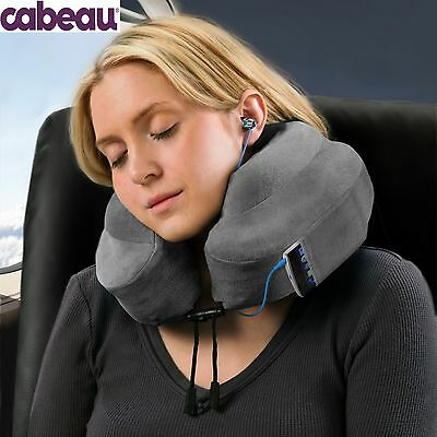 New Cabeau Evolution Pillow - Memory Foam Travel Neck Pillow - Grey