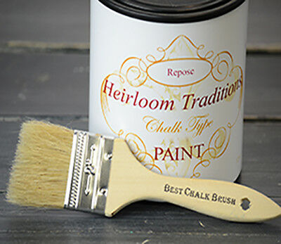 2'' Natural Bristle Chip Brush Heirloom Traditions Chalk Type Paint Furniture