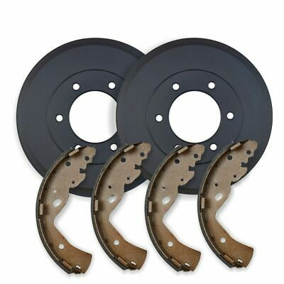 Ford F150 2WD & 4WD *12mm stud holes* 1997-2000 REAR BRAKE DRUMS + SHOES RDA6698