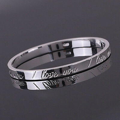 Xmas Gift Wholesale Solid SILVER Women's Jewelry Bracelet/Bangle Lady B925