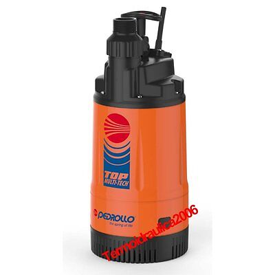 Multi Stage submersible Pump clear water TOP MULTI TECH2 0,75Hp 240V Pedrollo
