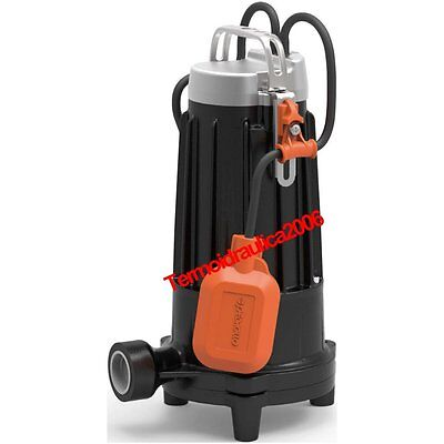 Submersible GRINDER Electric Pump sewage water TR m1,1Tritus 1,5Hp 230 Pedrollo
