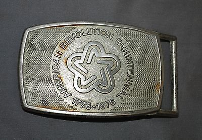 American Revolution Bicentennial Belt Buckle Officially Recognized Commemorative