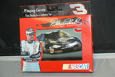Dale Earnhardt Playing Card Never Opened 2001 In the Tin