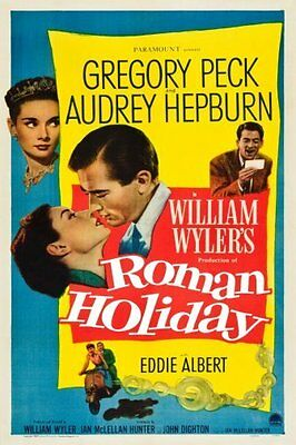 Roman Holiday Movie 11x17 Mini Poster (28cm x43cm)