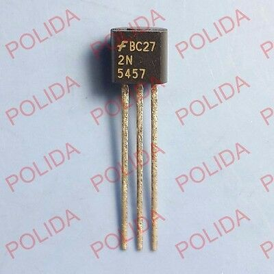 10PCS JFET Transistor FAIRCHILD/SILICONIX TO-92 2N5457
