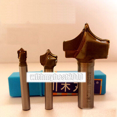 """Point Cutting Router Bits 1/4 & 1/2 Shank 1/4""""- 2"""" Dia Round Over Router Bits"""