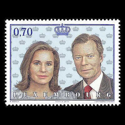 Luxembourg 2015 - 15th Anniv of the Reign of Grand Duke