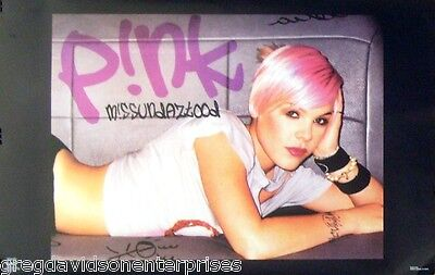 Pink 23x35 Missundaztood Poster 2002 Alecia Beth