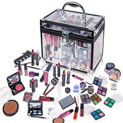 SHANY Carry All Trunk Professional Makeup Kit Eyeshadow Pedicure Manicure W/ Bl