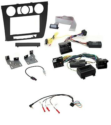 Fits BMW 1 Series E81 E82 Double Din Stereo Fitting Kit Manual Aircon CTKBM09