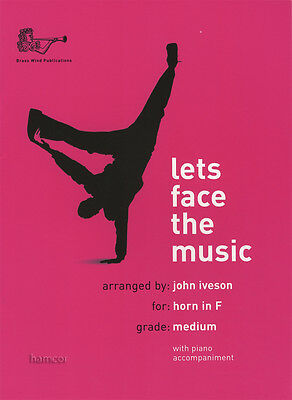 Lets Face the Music Horn in F Sheet music Book With Piano Accompaniment Iveson