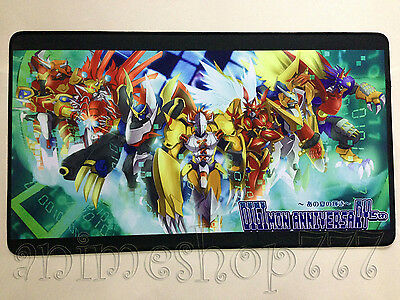 Digimon Yugioh VG MTG CARDFIGHT Game Large Keyboard Mouse Pad Playmat #13