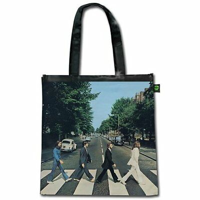 The Beatles Abbey Road Album Cover Tote Shopping Bag For Life Gift Official